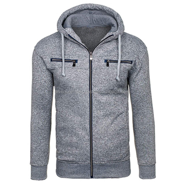 simple fashionable hoodie/hoodie with front chest pockets