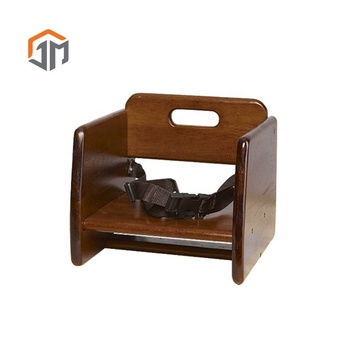 Classical Portable Stackable Wooden Baby Booster Chair