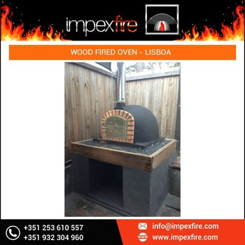 Reputed Manufacturer of Wood Fired Pizza Baking Home Oven