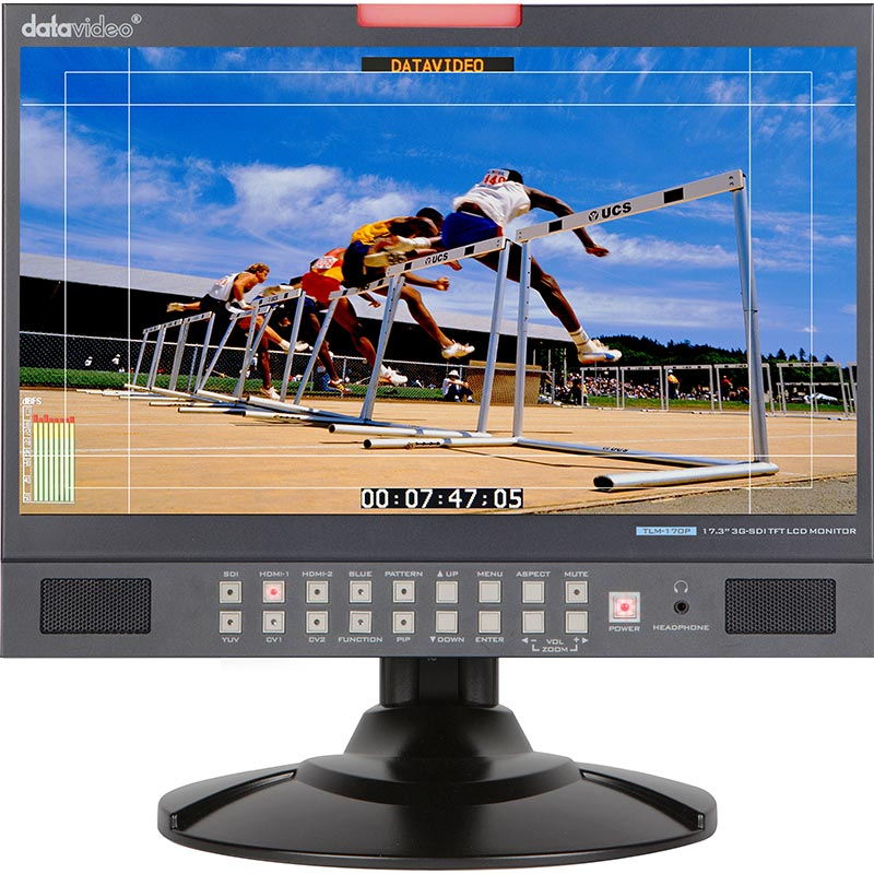 "Datavideo TLM-170P 17.3"" HD/SD TFT LCD Monitor"