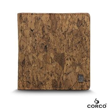 Man wallet 2018 brand Vegan Leather Cork Slim Credit Men Wallet Handmade Pocket Short Wallet