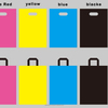 Plastic Color Shopping Bags