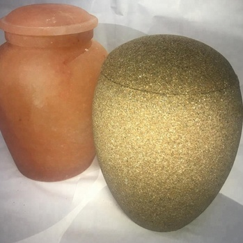 Sand Biodegradable Urns for Cremation in cheap price