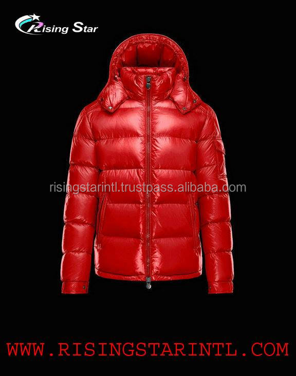 coat down jacket warm hoods windbreaker thick zipper winter windproof hooded puffer padding jacket men