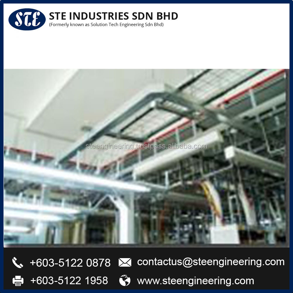 High Quality custom network Cable Trunking/ galvanized steel price from Malaysia