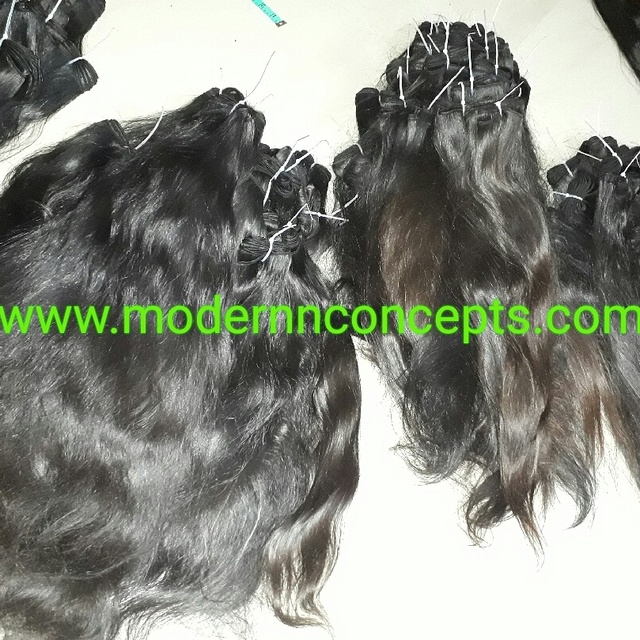 Top grade 7a Natural Virgin Peruvian Human Hair Weave Bundles 20'' Unprocessed Peruvian Straight Wavy Curly Hair Extension