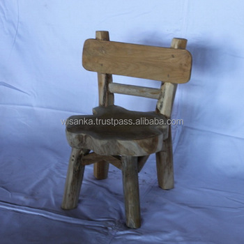 Kursi Anak Natural | Kids Chair Furniture
