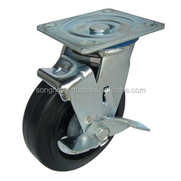 Heavy duty caster wheel