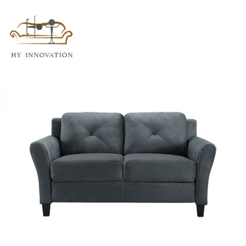 Curved Arm-rest 2 Seater Love-seat Couch Modern Leather Sofa - Buy Modern  Leather Sofa,Love-seat Sofa,2 Seater Sofa Couch Product on Alibaba.com