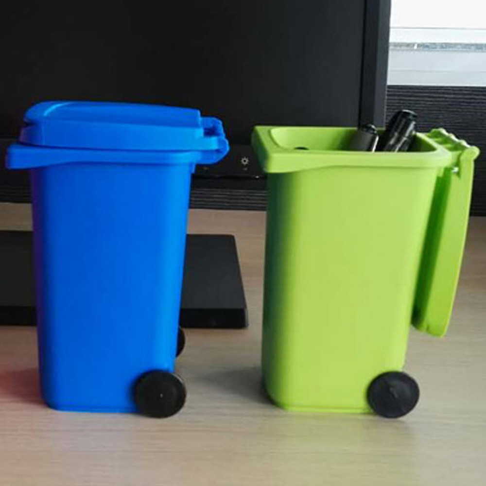 wholesale 100liter out door plastic garbage bin with wheels