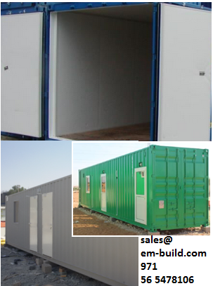SITE OFFICE / Container converted site office + 971 56 5478106 Dubai/UAE/Umm al quwain/ RAK/Fujairah/ Abu Dhabbi/Sharjah/Ajman