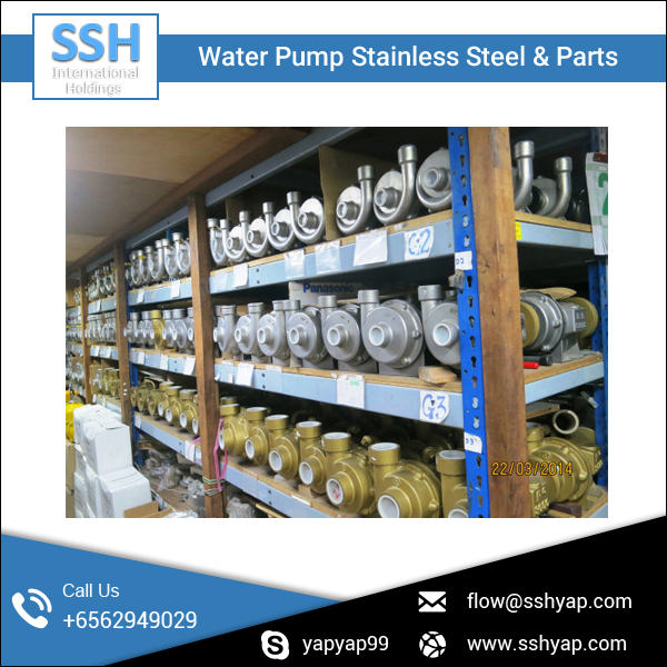 Vessel and Ship Use Water Pump Available at Bulk Wholesale Rate