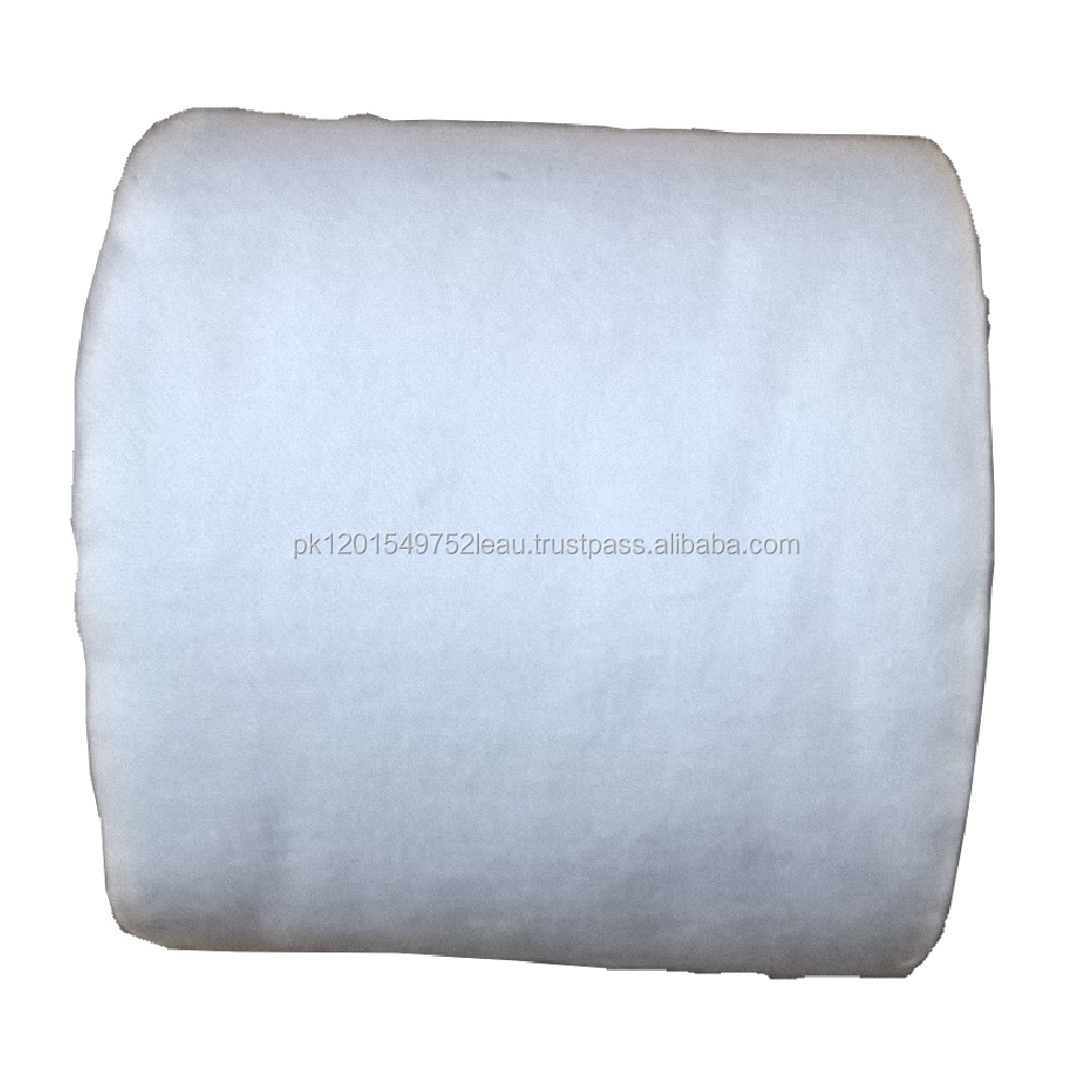 Small Size Cleaning Patches / Gun Cleaning Cloth Roll / Cleaning Plain Patches White Cloth (High Quality Packing)