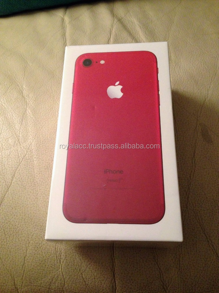 Wholesale Newest Released for Apple original Latest RED phone unlocked Phone 7 & 7 plus 32GB 128GB/Whatsapp : +1(469) 848-6528