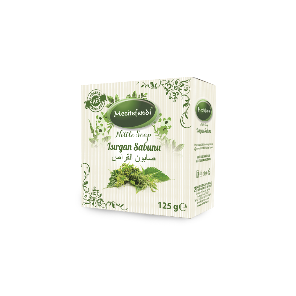 CLASSIC HERBAL NETTLE SOAP FOR BODY CLEANSING