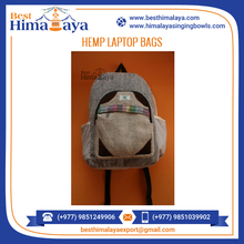Premium Quality Bulk Hemp Laptop Bag at Nominal Rate