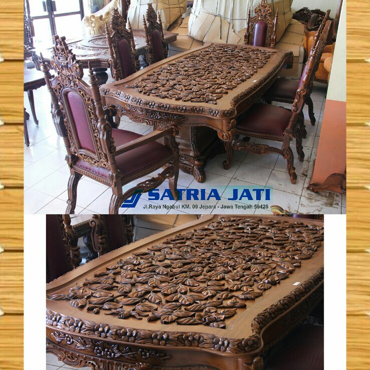 coffee table wood indonesia furniture