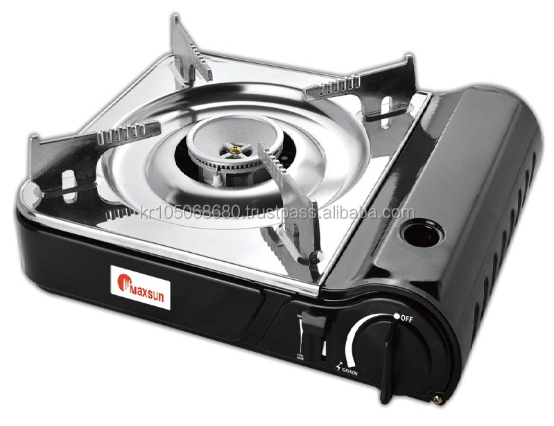 Max Dual Burner Portable Gas Stove