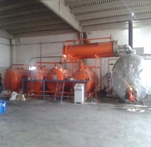 Made in Turkey Used Engine Oil Recycling Distillation System