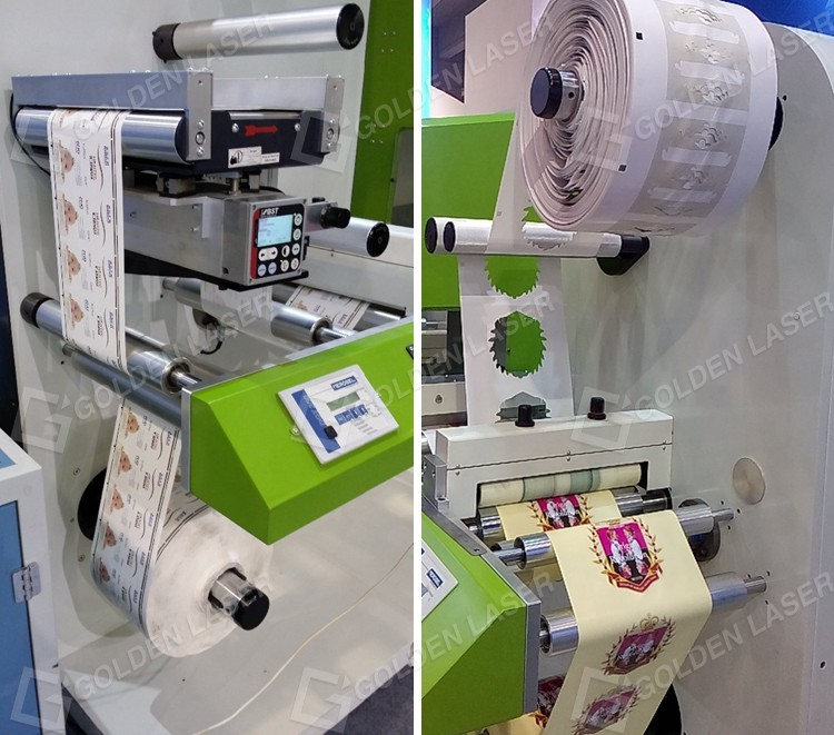 Laser Self-Adhesive Label Cutting and Finishing Machine
