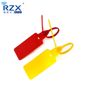 2019 new arrival ABS nylon self-locking security zip tie RFID tag seal cable tie