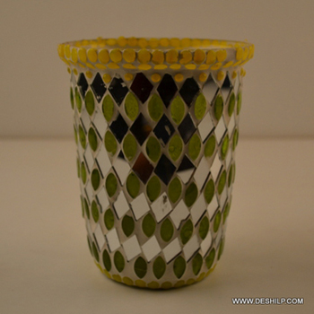 FLOWER VASE,MOSAIC VASE,DECORATIVE FLOWER POT