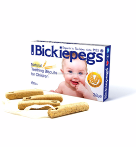 Bickiepegs Teething Biscuits for Babies 38g