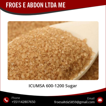 Naturally Extracted Brown Sugar Icumsa 600 - 1200 for Export