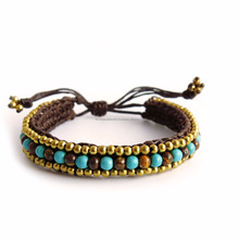 JJBR199A063 Stone Bracelet Wholesale Natural Stone Jewelry Made in THAILAND product Boho Jewelry Bohemian