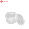 Food Grade Round Seal Tamper-Evident 14oz Snack Food Packaging Container