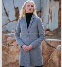 Overcoat Long Design OEM/ODM Whole sale Fashion 2018 Winter Wool for Women Top 2018 New Collection