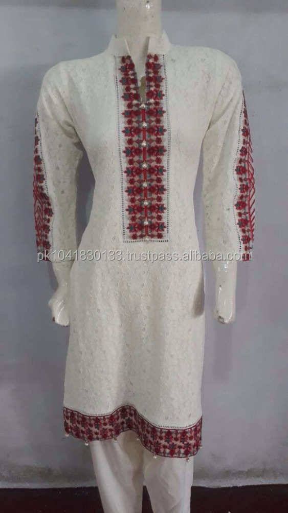 Pakistani net dress