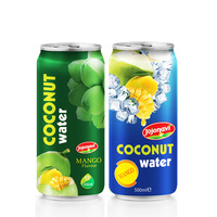 wholesale Coconut water with Mango flavour Aluminium can JOJONAVI beverage brands