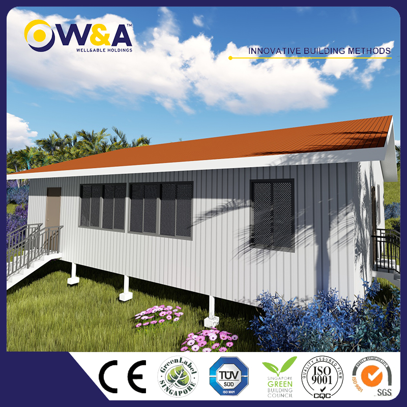 (WAS3507-122D)Competitve Price Modular Luxury Home Villa/Resort for Steel Prefab Living House
