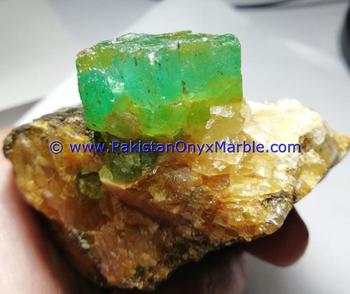 EMERALD SPECIMENS TOP QUALITY TERMINATED CRYSTALS