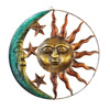 Sun And Moon Metal Wall Art for Indoor or Outdoor