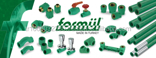 PPR pipes and fittings