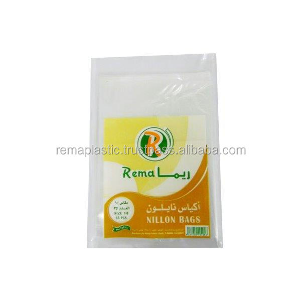 High Quality Plastic Food Bags in Flat ( Size 10)