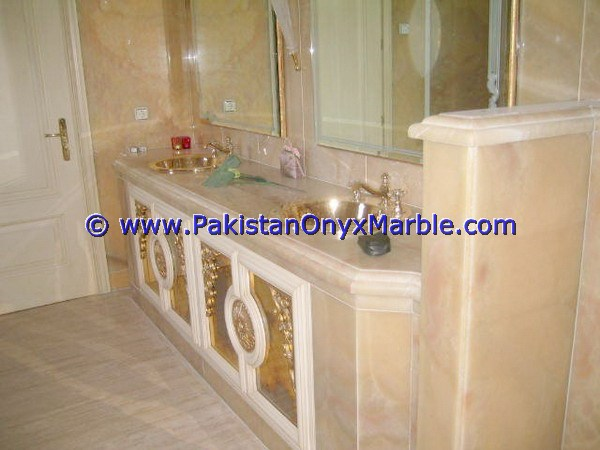 MANUFACTURER AND EXPORTERS ONYX BATHROOM VANITY TOPS & SINKS