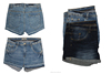 Bangladesh Stock Lot/Shipment Cancel/Surplus Garments Stylish Ladies Denim Sexy Short