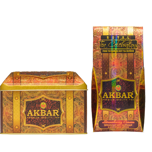 Akbar Treasure Pack / Strawberry Cream best Ceylon tea