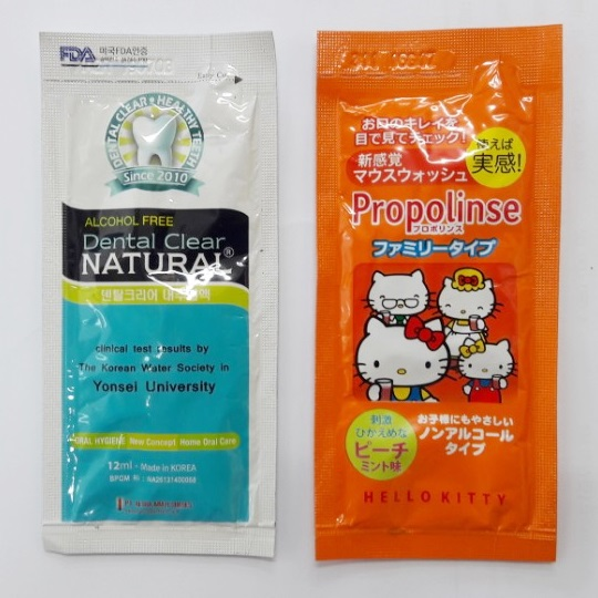Buyer's design mouthwash Sachet 12ml
