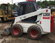 Good quality used Bobcat skid steer loader S300 for sale/ bobcat loader with low price