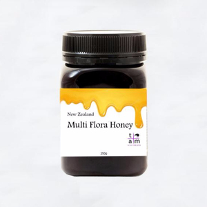 New Zealand Multi Flora Honey 250g