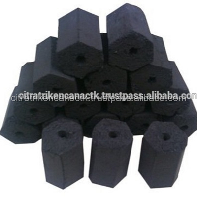 RESTAURANT, INDUSTRIES, OUTDOOR BEST Citra hexagonal charcoal hardwood sawdust briquettes/barbecue charcoal WA+62-813-10009307