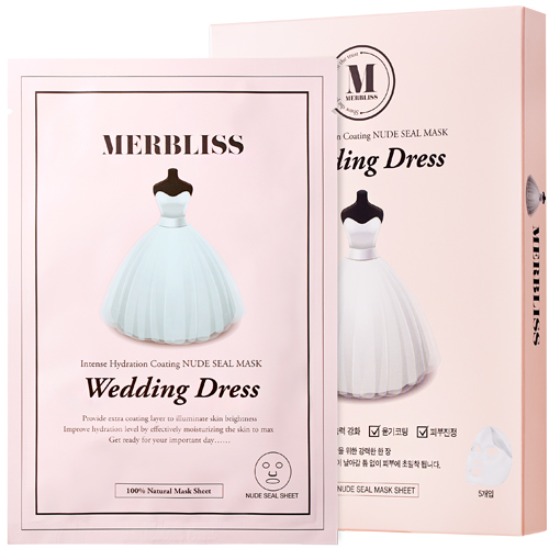 MERBLISS Wedding Dress Mask Pack series