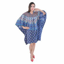 Sexy bold kaftan .stylish purple kaftan with long sleeves mandala dress