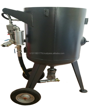 Made in Turkey, high quality, best price Sandblasting Pot