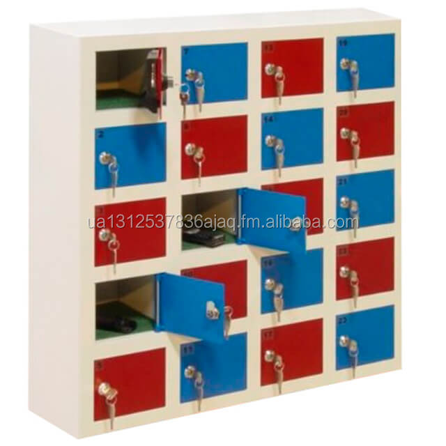 Lockers for mobile phone storage