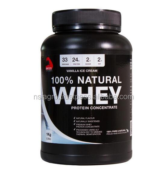 100% Natural Whey Protein Powder for Private label OEM Made in New Zealand